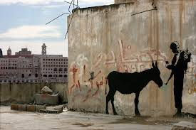 could the l a auction of a banksy mural reveal the elusive banksy s donkey documents