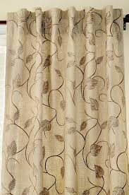 Leaf Design Curtains Ready Made Curtains With A Designer Look