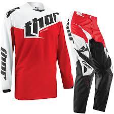 thor motocross helmets thor phase 2015 tilt red motocross enduro dirt pit bike quad pants