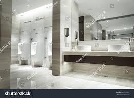 contemporary interior contemporary interior public toilet part luxury stock photo