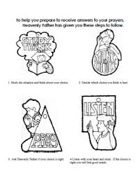 steps to prayer coloring sheet
