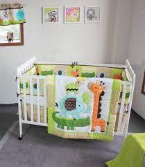 Baby Nursery Bedding Sets Neutral by Giraffe Crib Bedding Creative Ideas Of Baby Cribs
