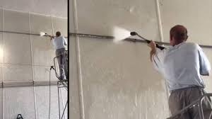 How To Clean The Walls by How To Clean Car Wash And Truck Wash Walls The Easy Way Youtube