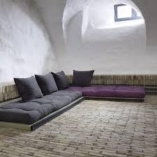 canapé futon canapé design tatami caroki avec futon matelas