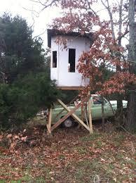 Deer Hunting Tower Blinds Homemade Bow Blind Arkansas Hunting Your Arkansas Hunting Resource
