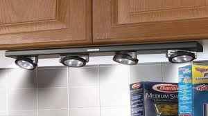 Kitchen Light Under Cabinets Ritelite Lpl704 Battery Operated Led Under Cabinet Track Light