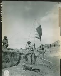 Army Signal Flags Shore Patrol Setting Up Signal Flags During Amphibious Training