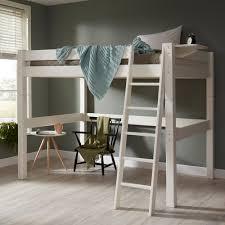 Kidz Beds Double Bed High Sleeper Jellybean Ireland - High bunk beds