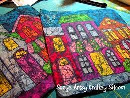how to make crayon batik fabric diy crafts handimania