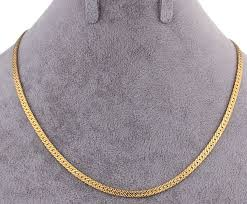 chunky chain charm necklace images Buy 24k gold plated men women chunky snake chain necklace choker jpg