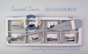 coastal decor coastal decor tutorial create an easy nautical ring wreath