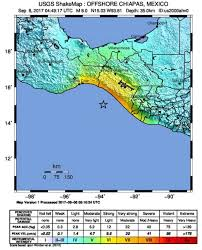 chiapas mexico map deadly earthquake the coast of chiapas mexico at least 98