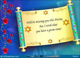 purim cards will be missing you this purim but i wish that you a great