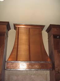 Fireplace Canopy Hood by Copper P06 Custom Copper Range Hood Hoods By Hammersmith
