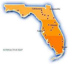 temperature map of florida temperature map