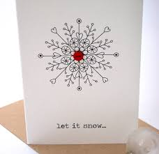 let it snow button card buttons button