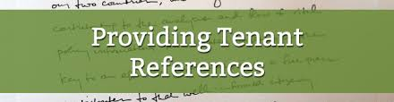 7 tips for providing tenant references free template