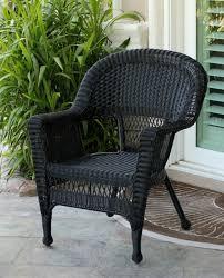Black Wicker Patio Furniture by Black All Weather Wicker Furniture