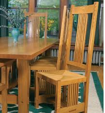 Arts And Crafts Dining Room Set Arts And Crafts Dining Chair Startwoodworking Com