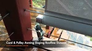 Awning Cord Verandah Drop Awning Fabric