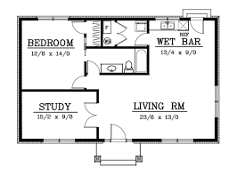 1000 sq ft floor plans cottage style house plan 2 beds 1 00 baths 1000 sq ft plan 100 403