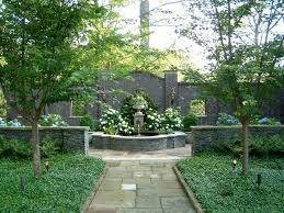 walled garden design landscape traditional with georgian garden