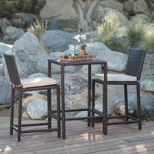 Counter Height Patio Dining Sets - 100 counter height patio set large round wooden garden
