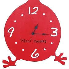 pendule murale cuisine horloge cuisine pendule de cuisine horloge cocotte