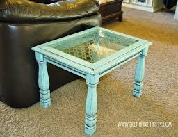 Chalk Paint Side Table Coffee Table Marvelous How To Make A Coffee Table Chalk Paint