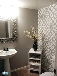 bathroom with wallpaper ideas accent wall paint ideas bathroom wallpaper designs buildmuscle