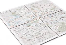 map paper kickstart it this ingenious paper map zooms as you unfold it wired