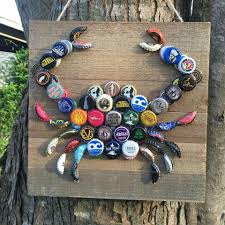 bottle cap crab this is a really cute idea i think i u0027d paint the