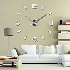 wall ideas large mirror wall clock uk mirror wall clock large
