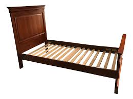 Stanley Young Bedroom Furniture Stanley Young America Cherry Twin Bed Chairish