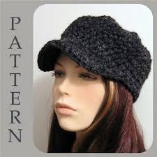 free pattern newsboy cap crochet newsboy hat pattern free free easy crochet patterns