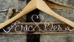 personalized wedding hangers show me your personalized wedding hangers weddingbee