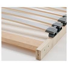 bed frame support system lönset slatted bed base queen ikea