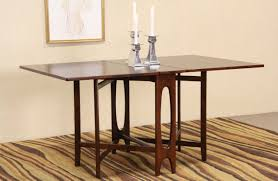 dining room serving tables sold midcentury danish modern rosewood drop leaf sofa serving