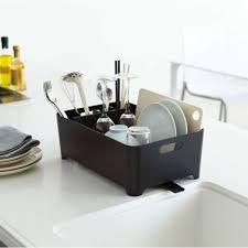 meuble egouttoir vaisselle egouttoir à vaisselle noir en plastique egouttoir vaisselle