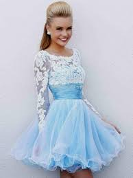 white and blue wedding dresses with sleeves naf dresses