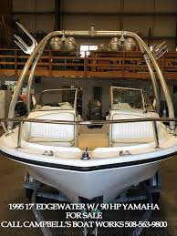 17 edgewater dual console boat for sale u2014 campbell u0027s boat works inc