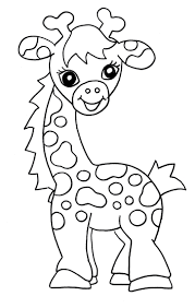 printable giraffes coloring pages in ideas animal coloring