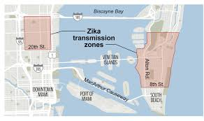 Miami Area Map by Feds Advise Pregnant Women Concerned About Zika To Avoid Miami