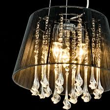 Shaded Crystal Chandelier Shaded Crystal Drop Chandelier Light Fitting By Made With Love