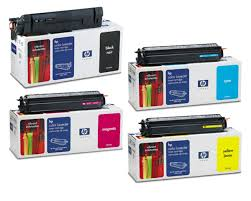 hp color laserjet 8500 toner black cyan magenta yellow cartridges