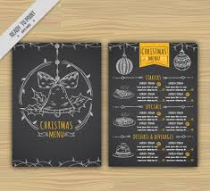 menu template black menu template free adobe menu