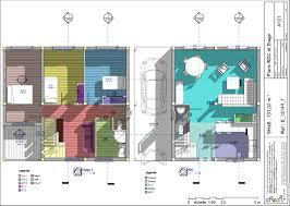 plan maison plain pied 5 chambres maison moderne r 2