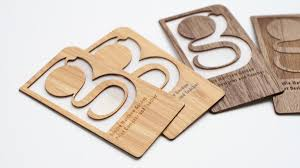 laser cut business cards these laser cut wooden business cards would definitely make an
