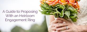 engagement ring etiquette heirloom engagement ring etiquette lyle husar designs