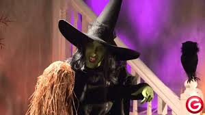 life size wicked witch of the west youtube